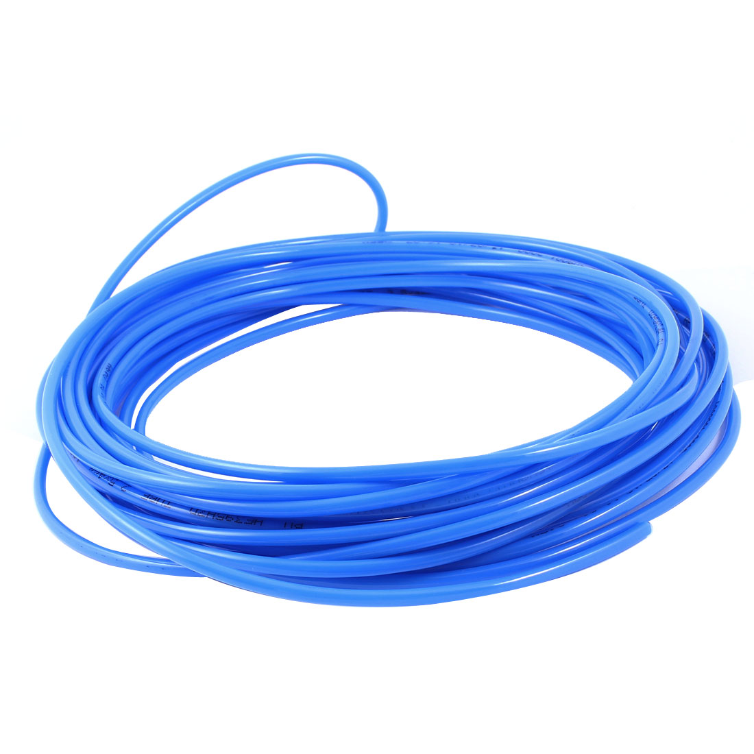 12M 39Ft Length 4mm x 2.5mm Size Pneumatic Air PU Hose Pipe Tube Blue