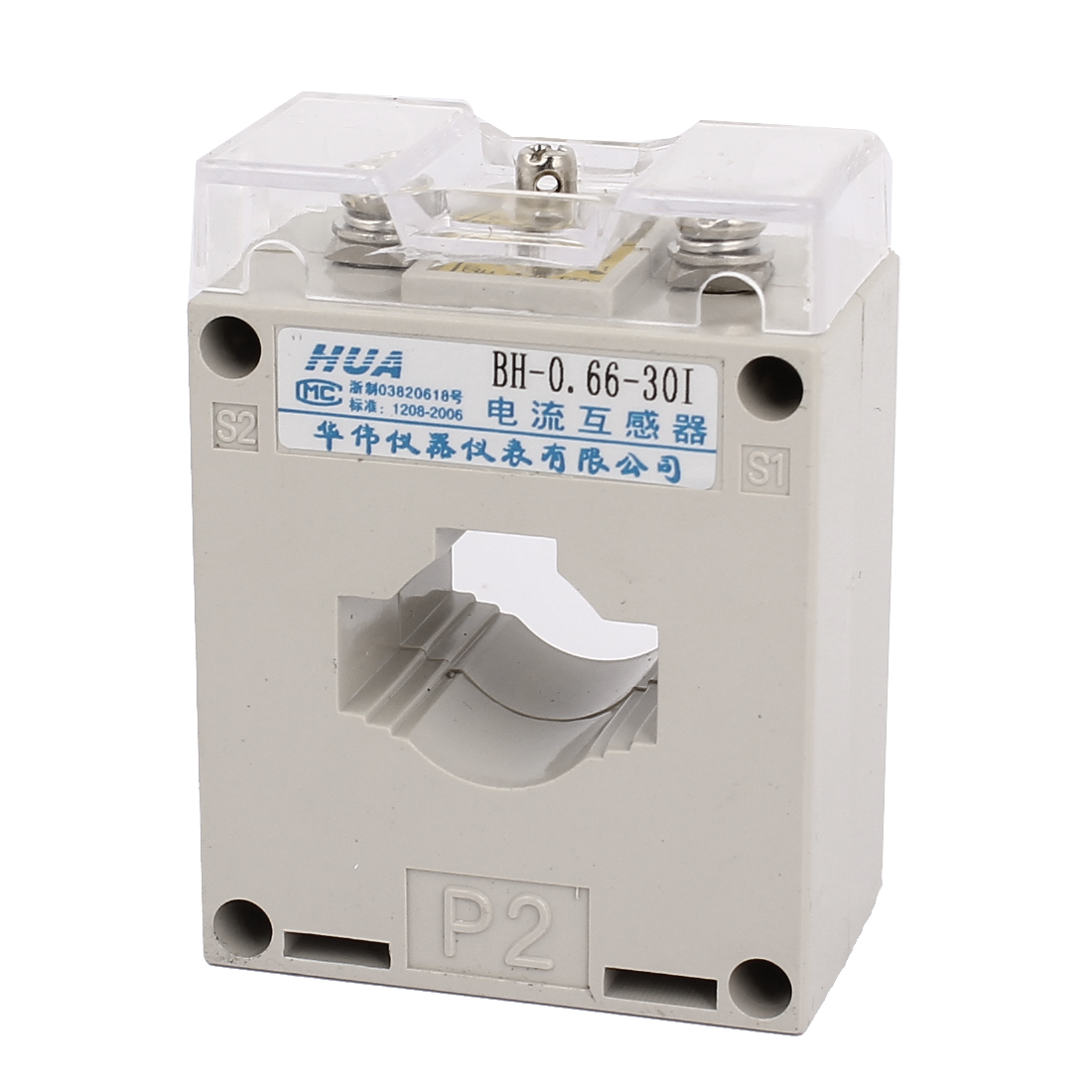 BH-0.66-301 Type Rated Voltage 660V Conductor Through 1T 50/5A Current Transformer