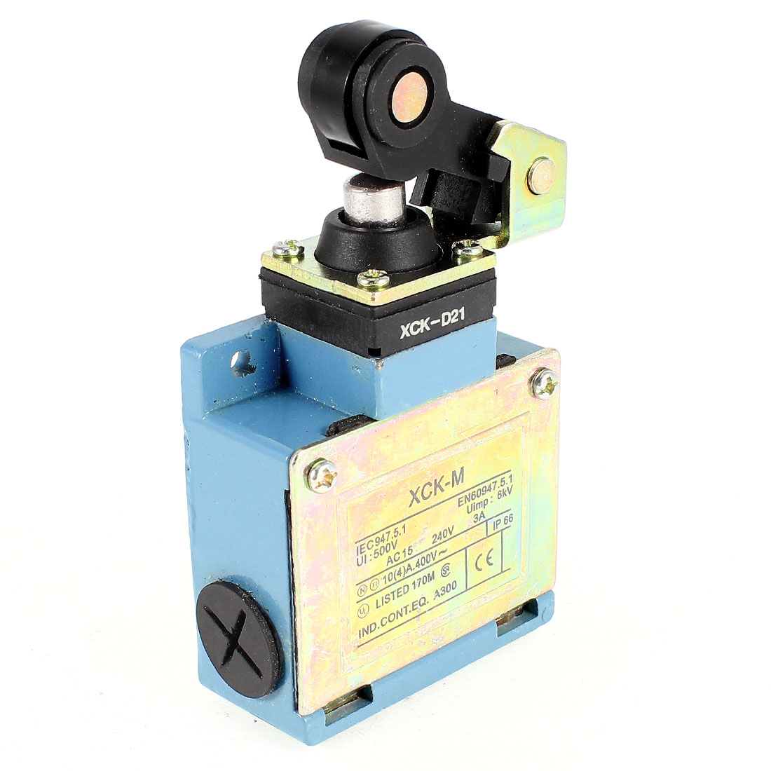 XCK-M/D21 AC15 240V 3A Roller Lever Actuator Limit Switch