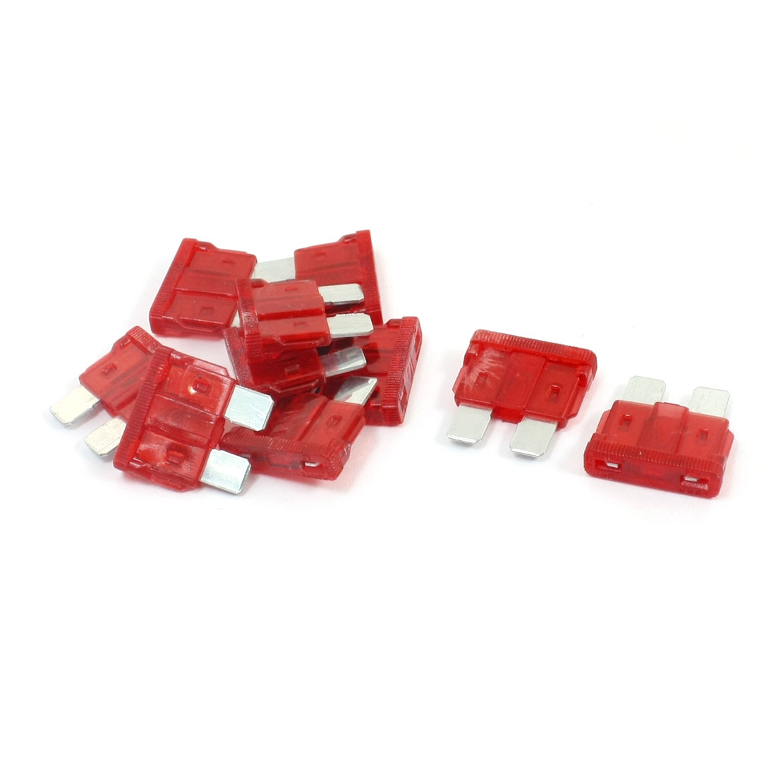 10 Pcs 32V 5A Auto Car Boat Motorcycle Large Size Blade ATC Fuse Red