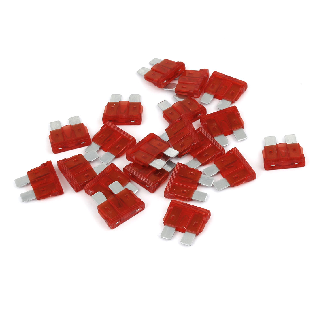 20 Pcs 32V 10A Auto Car Boat Motorcycle Large Size Blade ATC Fuse Red