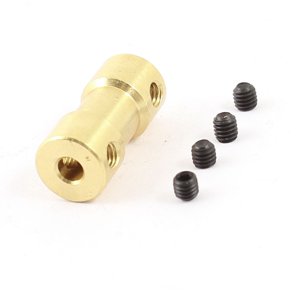 RC Airplane Helicopter 3.17mm to 2mm Brass Motor Shaft Coupling Coupler Connector