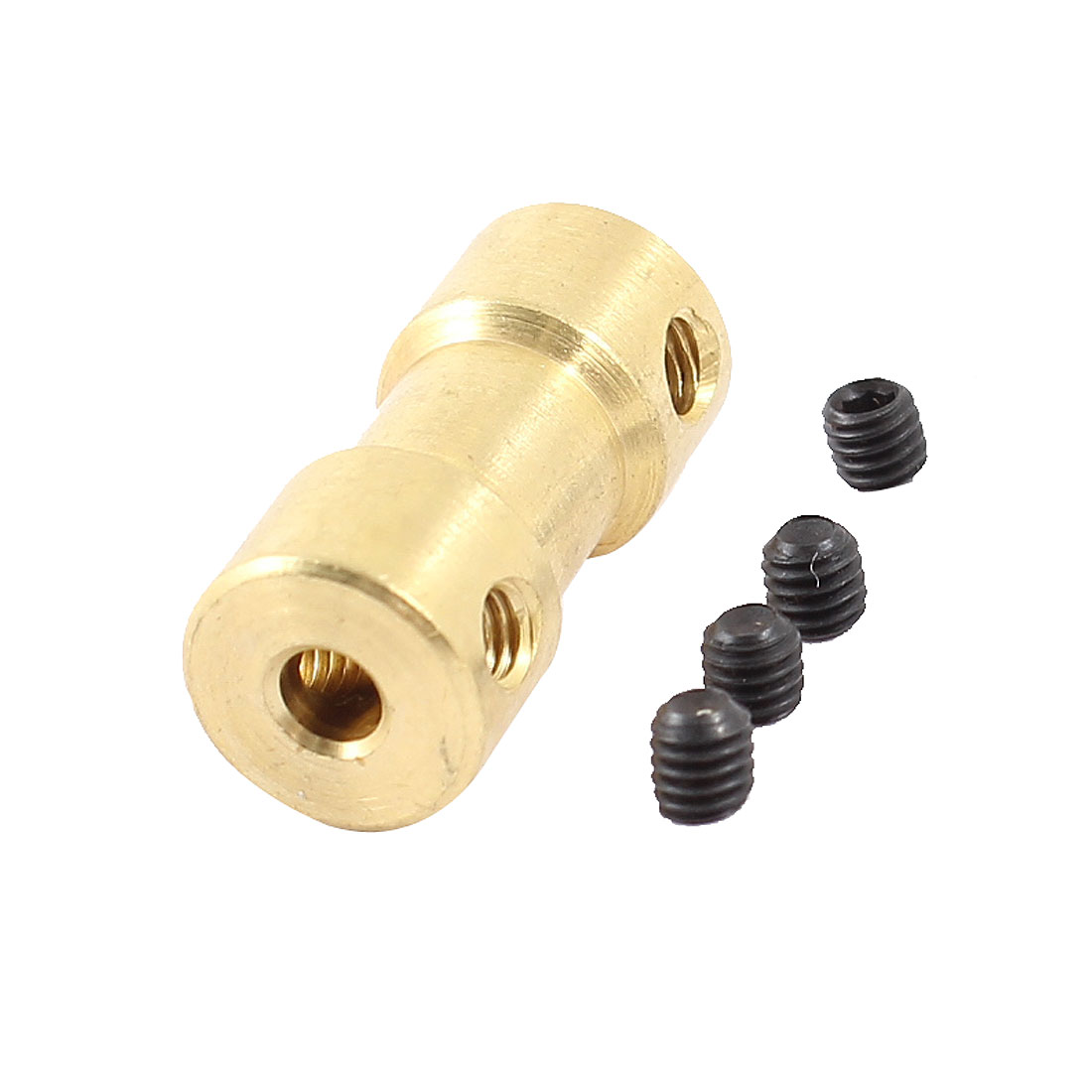 RC Airplane 2mm to 3mm Brass Motor Shaft Coupling Coupler Connector Adapter