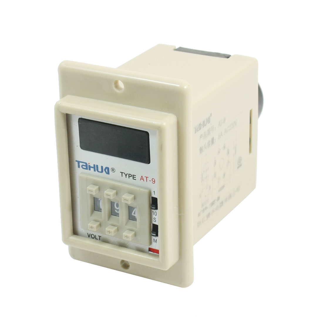 Panel Mounting DPDT 8 Pins 0.1S-999H Range Programmable Digit Time Delay Control Relay AC220V