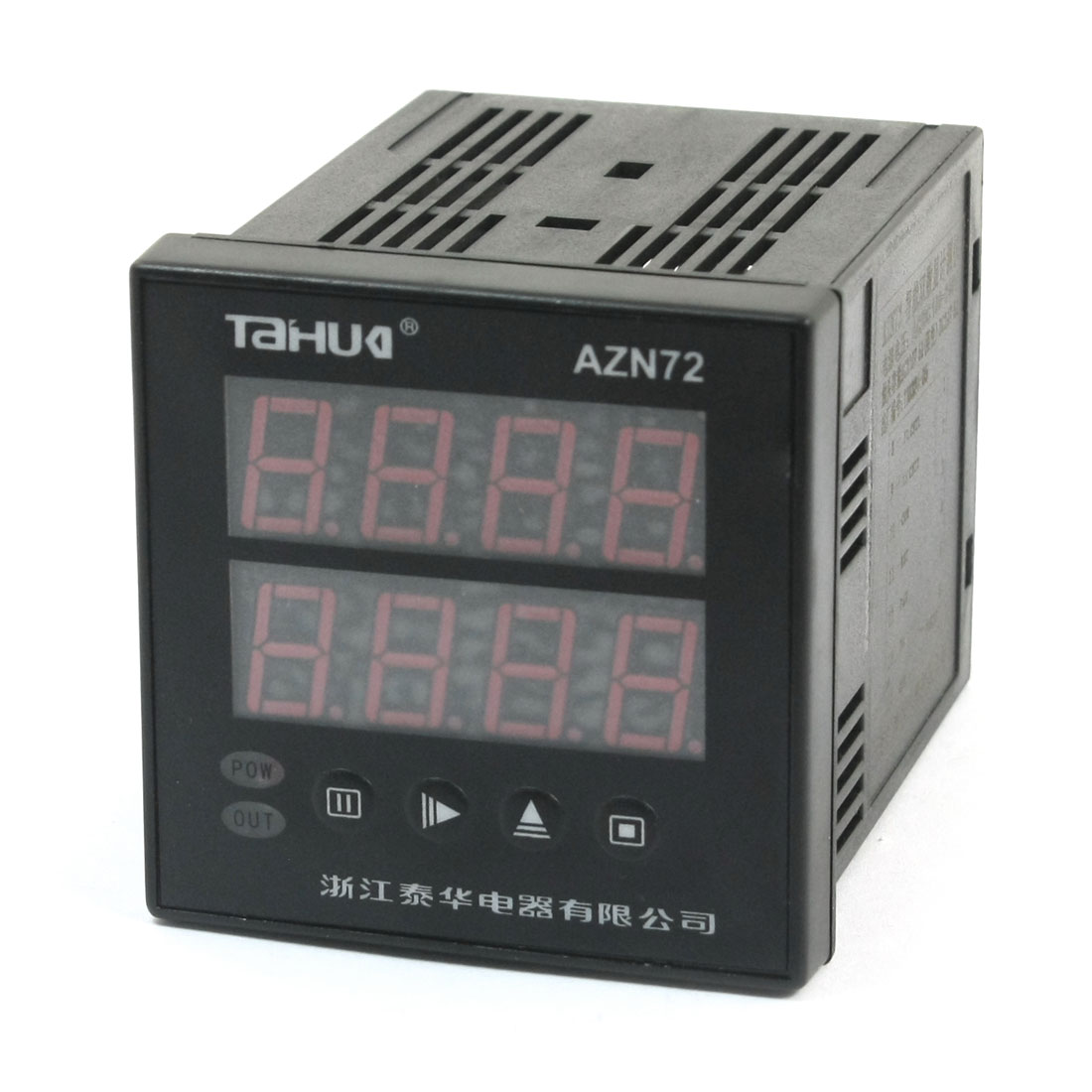 AC/DC 100-240V Square Panel Mounting 0.01S-99H99M 2 Row Digit Time Delay Control Timer Relay