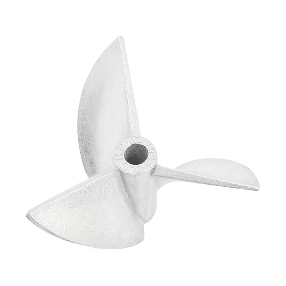 35mm Dia P/D1.9 Aluminium Alloy 3 Vanes CW Positive Rotating Propeller Prop for 3mm Dia Shaft RC Boat Ship Model