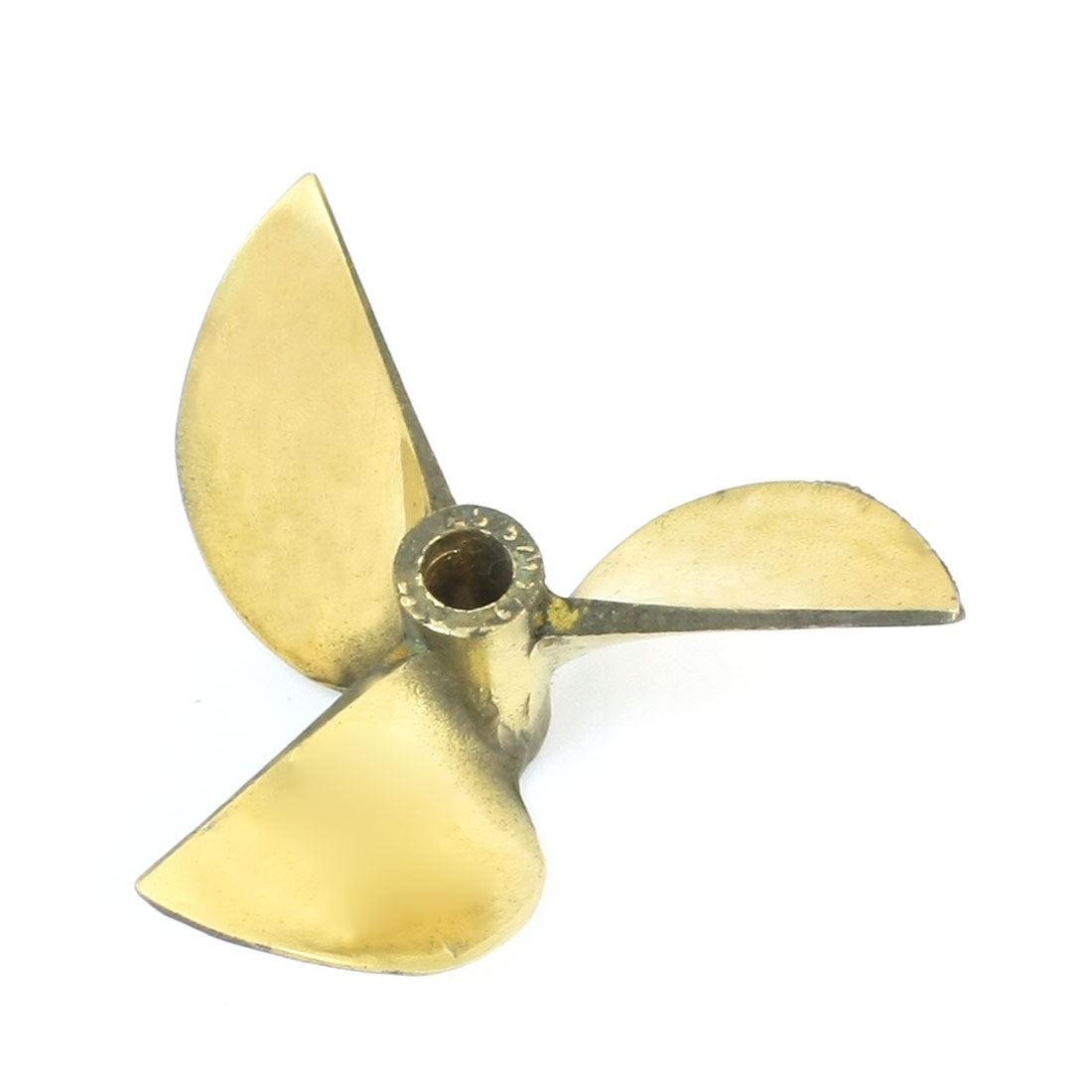 "67mm Dia 1.7"" Pitch Copper Alloy 3 Vanes CW Positive Rotating Propeller Prop for 1/4"" Shaft RC Boat Ship Model"