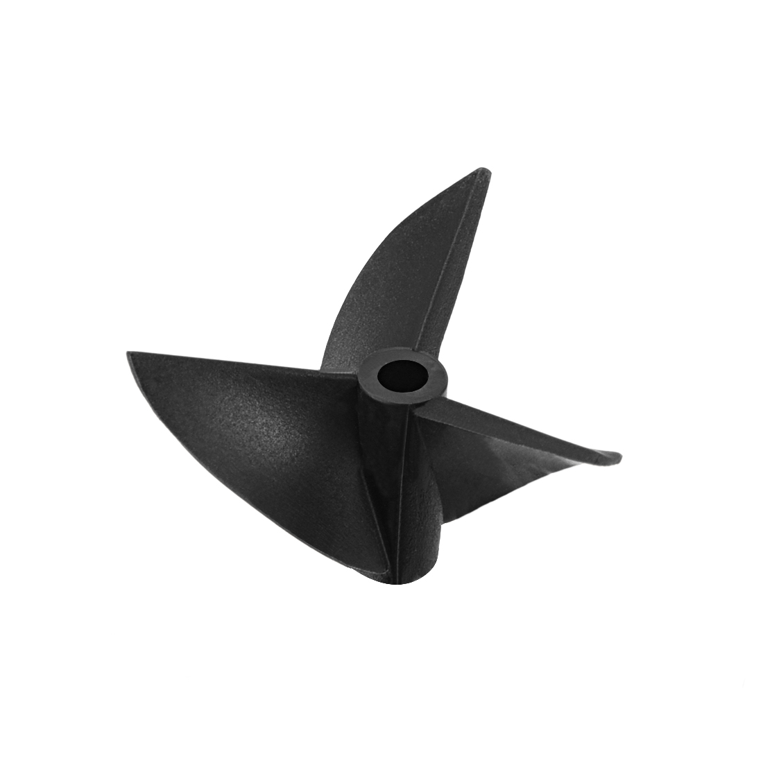 36mm Dia P/D 1.4 Black Plastic 3 Vanes CW Positive Rotating Prop Propeller 3614 for 4mm Shaft RC Model Ship Boat
