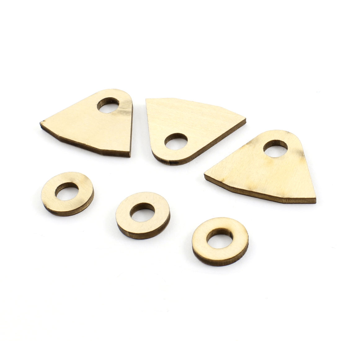 3 Pcs RC Brushless Motor Electric Boat Wooden Mount Stand for 4.76mm Shaft
