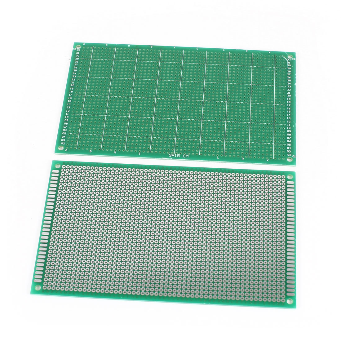 2 PCS 9cm x 15cm Single Sided FR-4 Prototype Paper Tinned Universal PCB Print Circuit Board for DIY