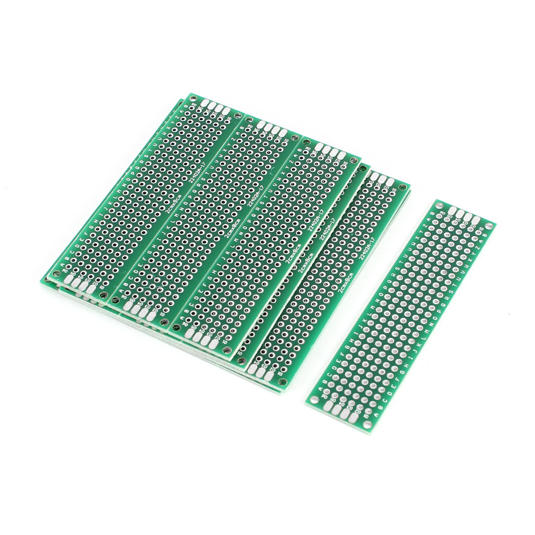 15pcs 2cm x 8cm Dual Side Prototype Paper Tinned Universal PCB Print Circuit Board for DIY