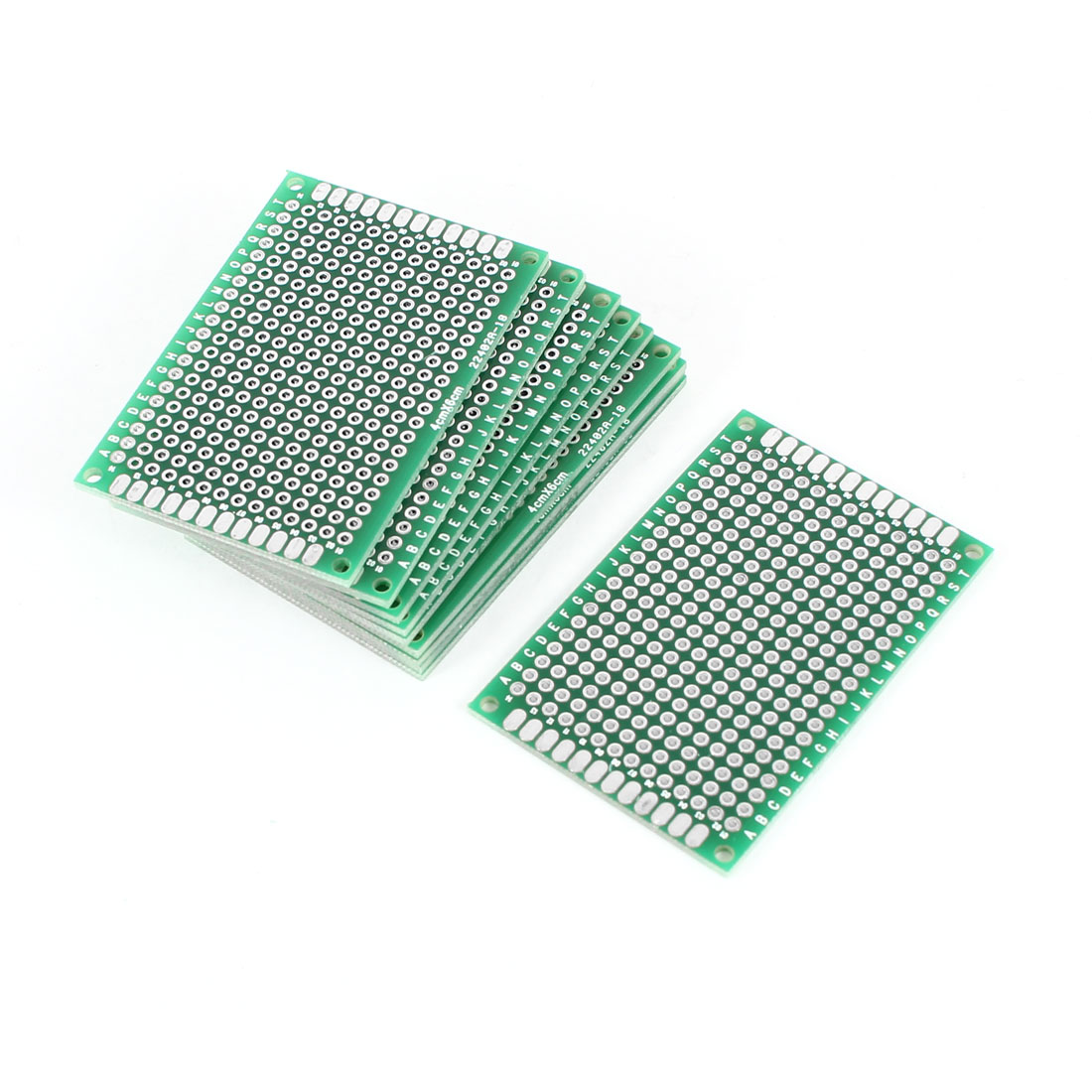 10PCS 4cm x 6cm FR-4 Double Sided Prototype Paper Tinned Universal PCB Print Circuit Board for DIY