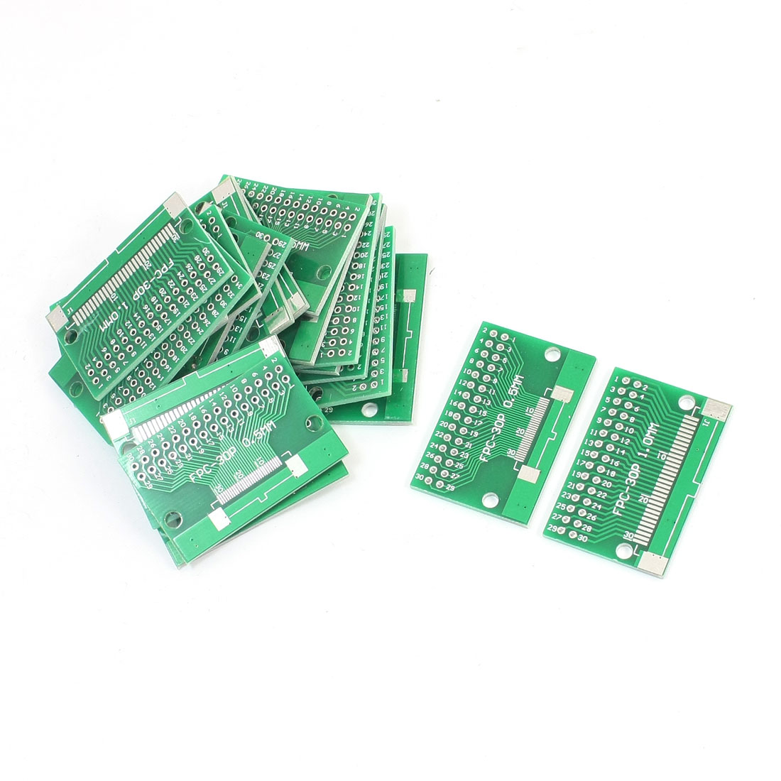 40mm x 26mm FPC-30P SOP30 1mm 0.5mm to DIP30 2.54mm Pitch Interposer PCB Board Adapter Plate Converter 20Pcs