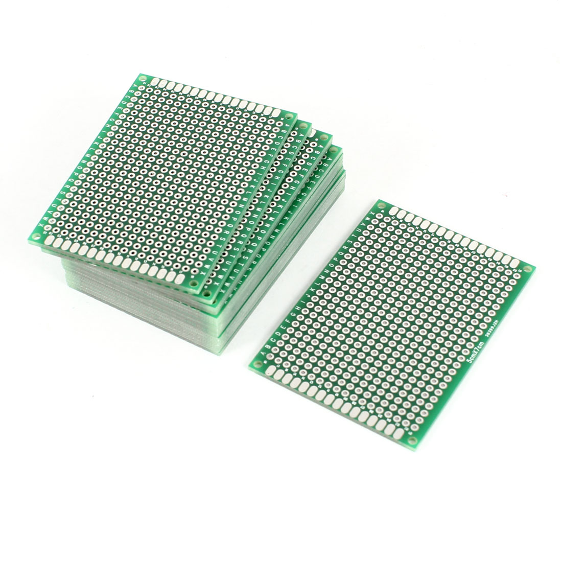 15 PCS 5cm x 7cm Double Sides Prototype Paper Tinned Universal PCB Print Circuit Board for DIY