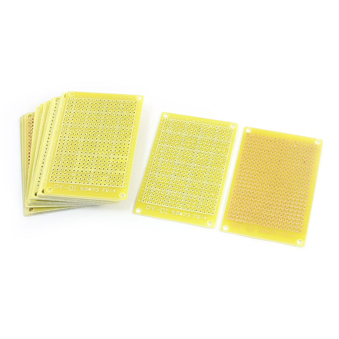 15Pcs Universal Single Side Prototype Matrix Copper Plated Glass Fiber PCB Board 7cm x 5cm
