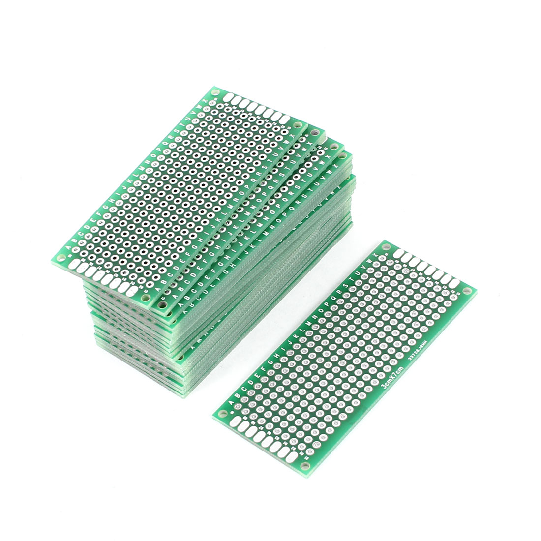 20 Pcs 3cm x 7cm Two Sides Prototyping Experiment Matrix Tinned DIY Universal PCB Print Circuit Board