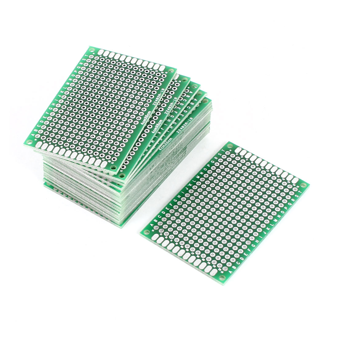 20 PCS 4cm x 6cm Double Sides Prototyping Experiment Matrix Tinned Universal PCB Print Board for Circuit DIY