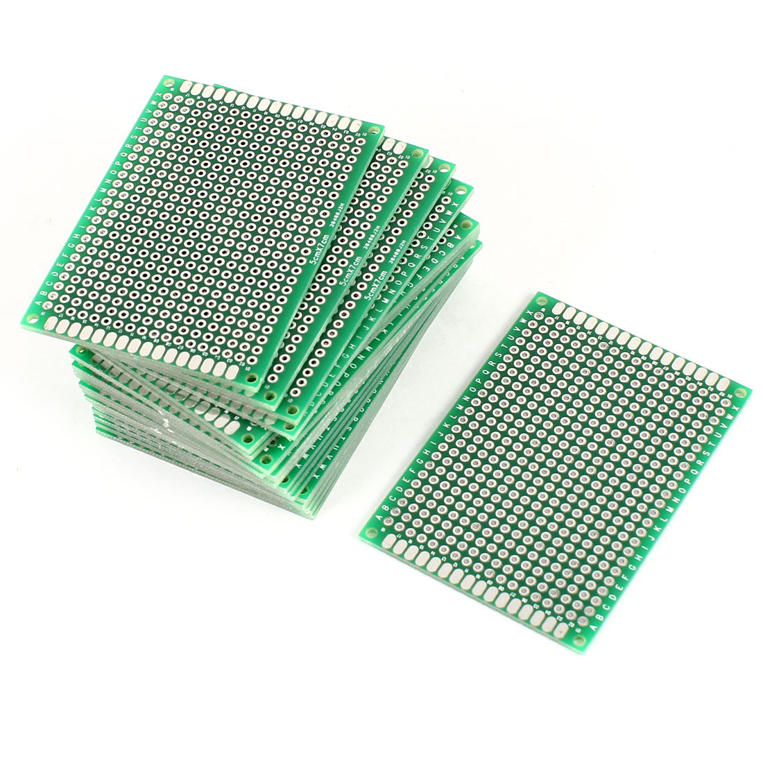 20Pcs 5cm x 7cm Double Sided Prototype Paper Tinned Universal PCB Print Circuit Board for DIY