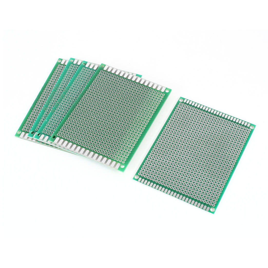 5 PCS 7cm x 9cm Single Sided Green FR-4 Universal Prototype Paper PCB Print Circuit Board for DIY