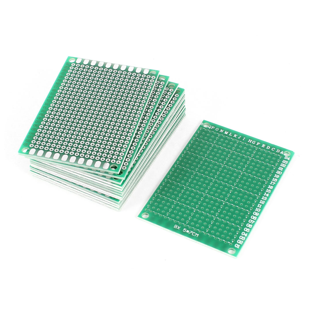 15 PCS 5cm x 7cm Single Sided Prototype Paper Tinned Universal DIY PCB Print Circuit Board