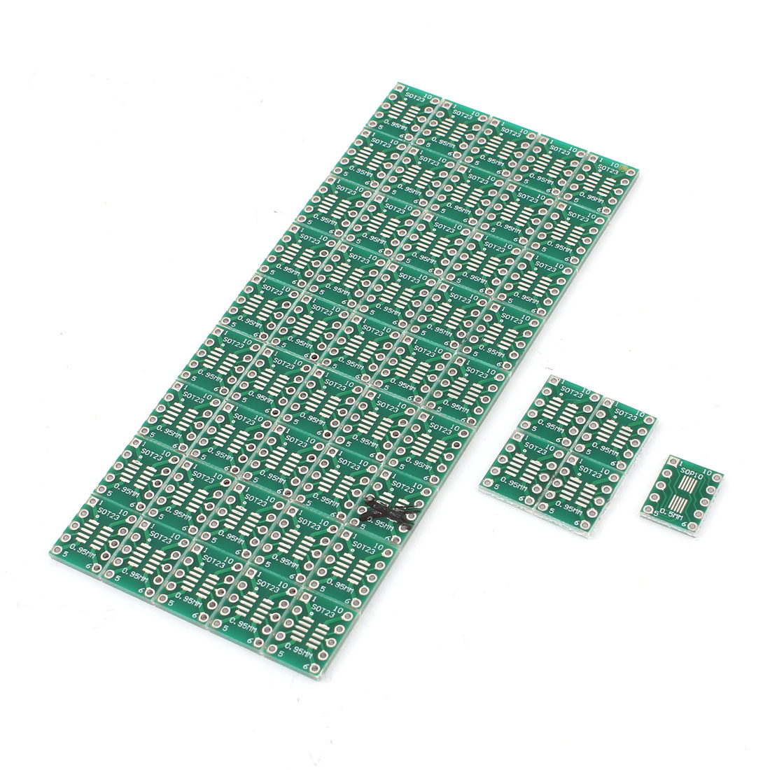 50Pcs 0.95mm 0.5mm SOT23/SOP10 to 2.54mm DIP23 DIP10 SMD IC PCB Adapter Socket