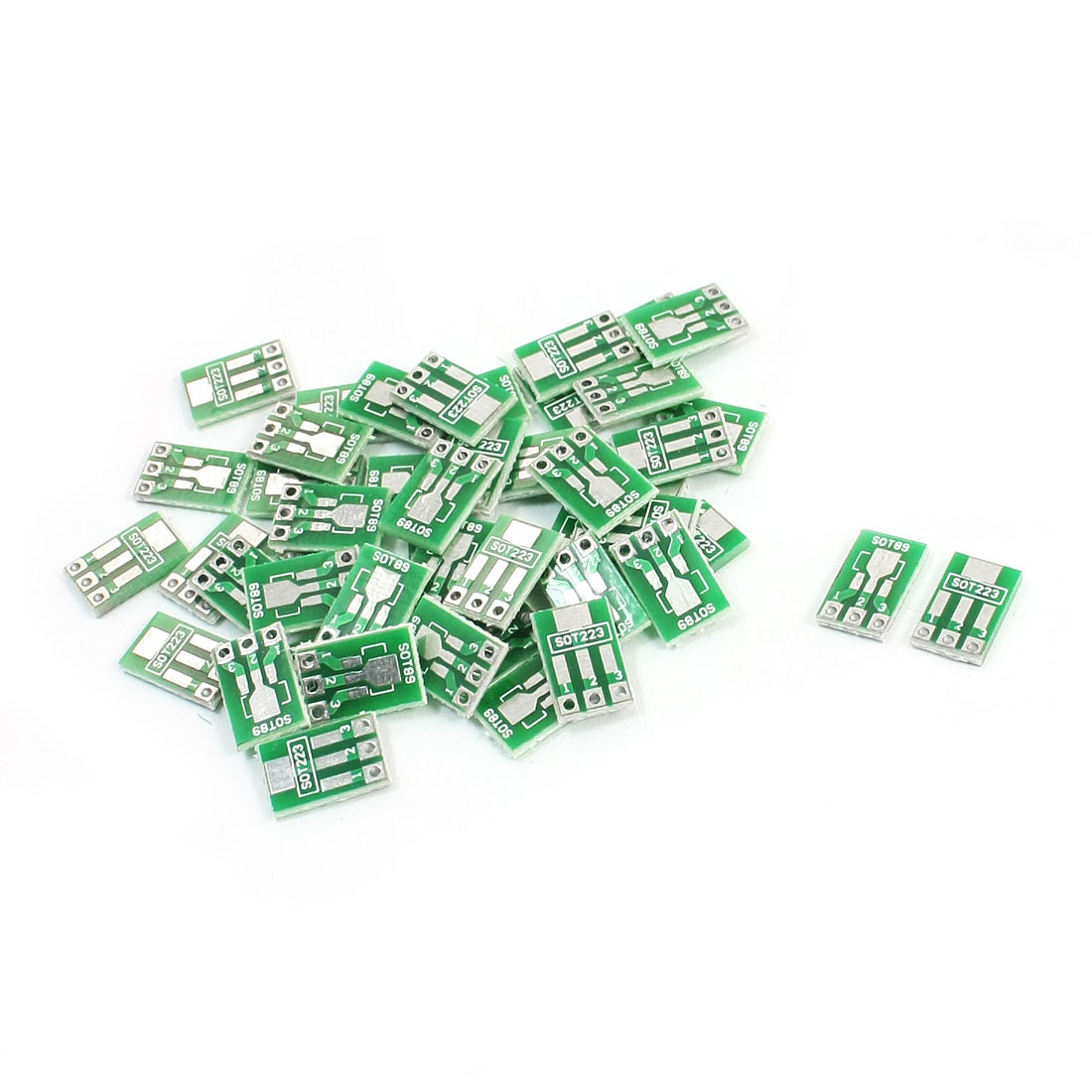 50Pcs 1.27mm SOT223/SOT89 to 2.54mm DIP SMD SMT IC PCB Adapter Socket