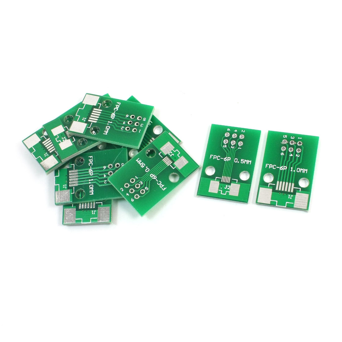 10pcs FPC/FFC DIP6 0.5mm 1.0mm Double Sided Circuit Board PCB Adapters