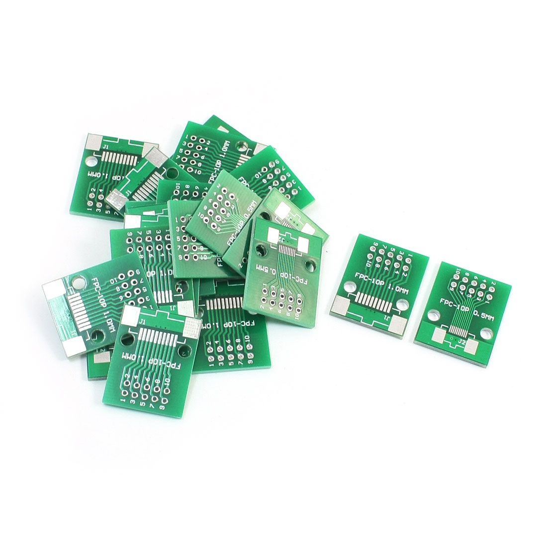 20pcs FPC/FFC DIP10 0.5mm 1.0mm Double Sided Circuit Board PCB Adapters