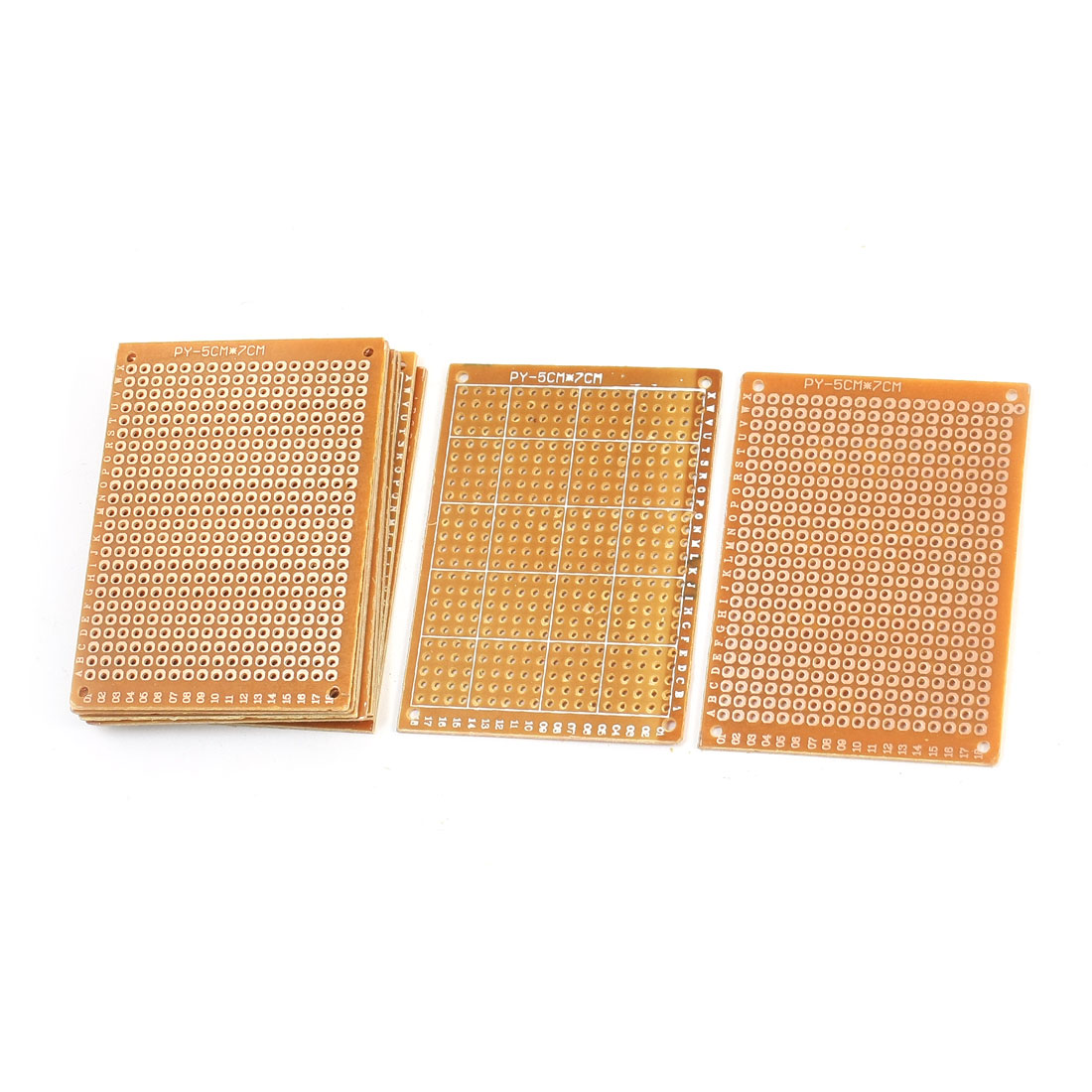 10Pcs Bakelite Single Side Copper Prototype PCB Matrix Board 7cmx5cm