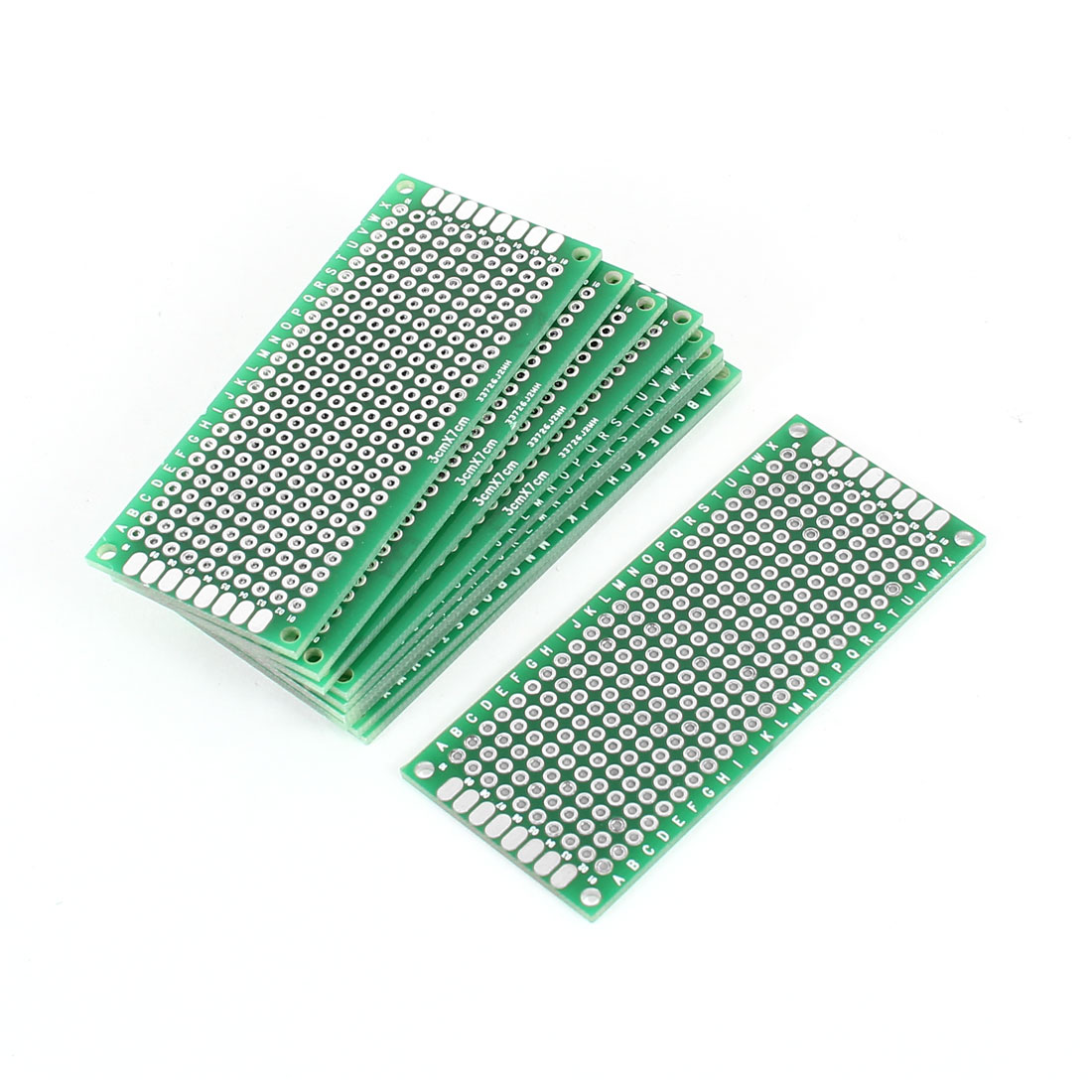 10 PCS 3cm x 7cm Double Sides Prototype Paper Tinnted DIY Universal PCB Print Circuit Board