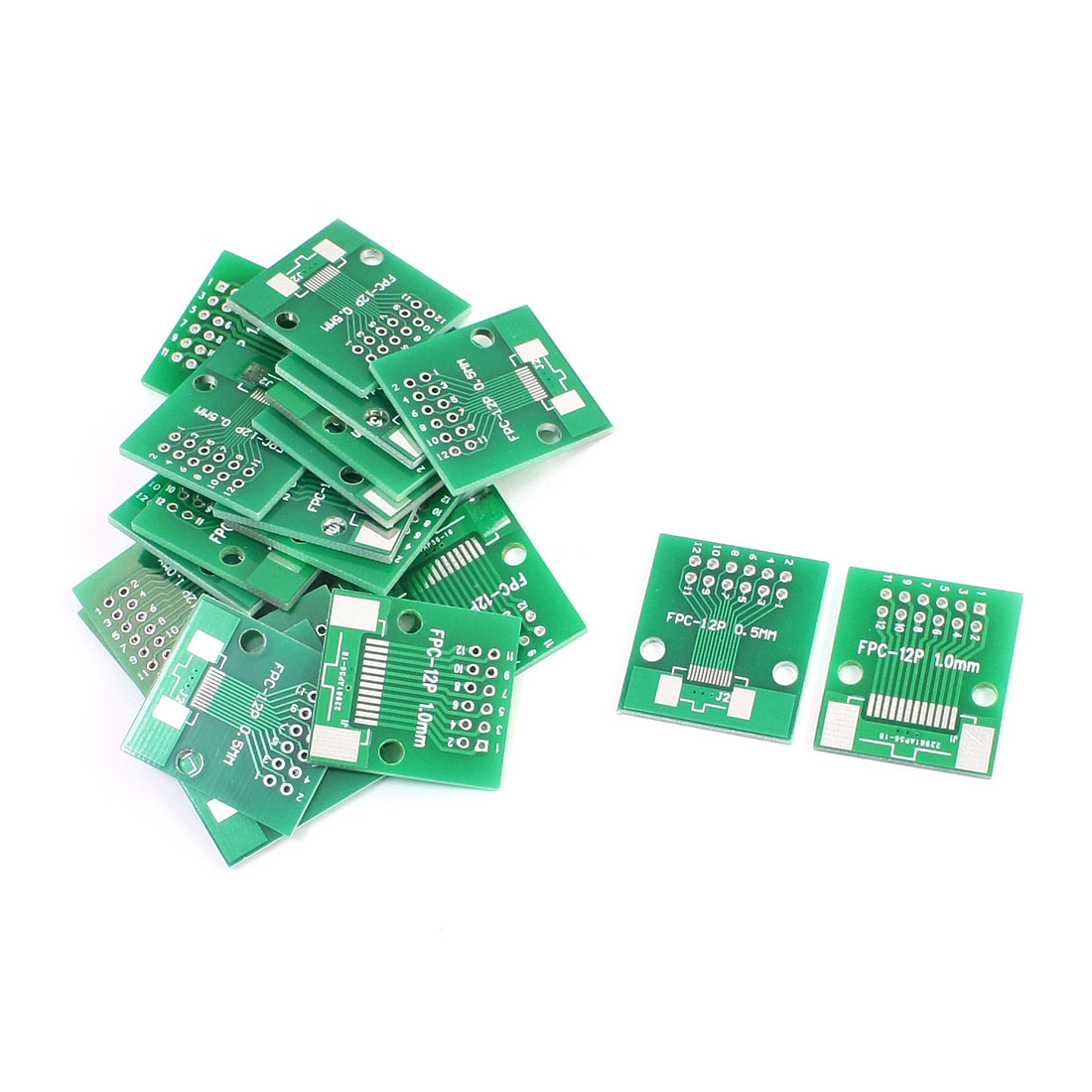 20PCS FPC/FFC DIP12 0.5mm 1.0mm IC PCB Adapter Converter 26 x 24mm