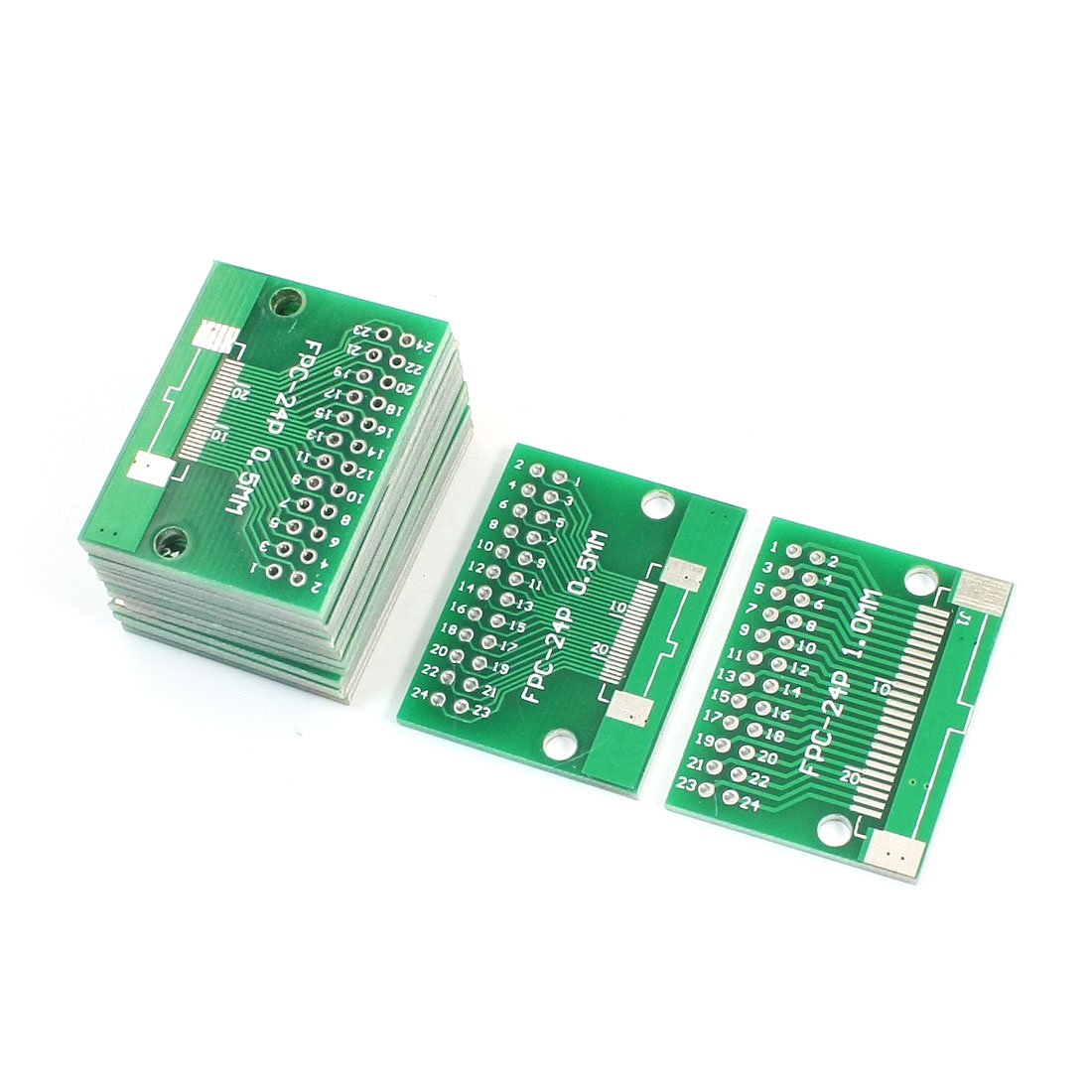 35mm x 28mm FPC-24P SOP24 1mm 0.5mm to DIP24 2.54mm Pitch Interposer PCB Board Adapter Plate Converter