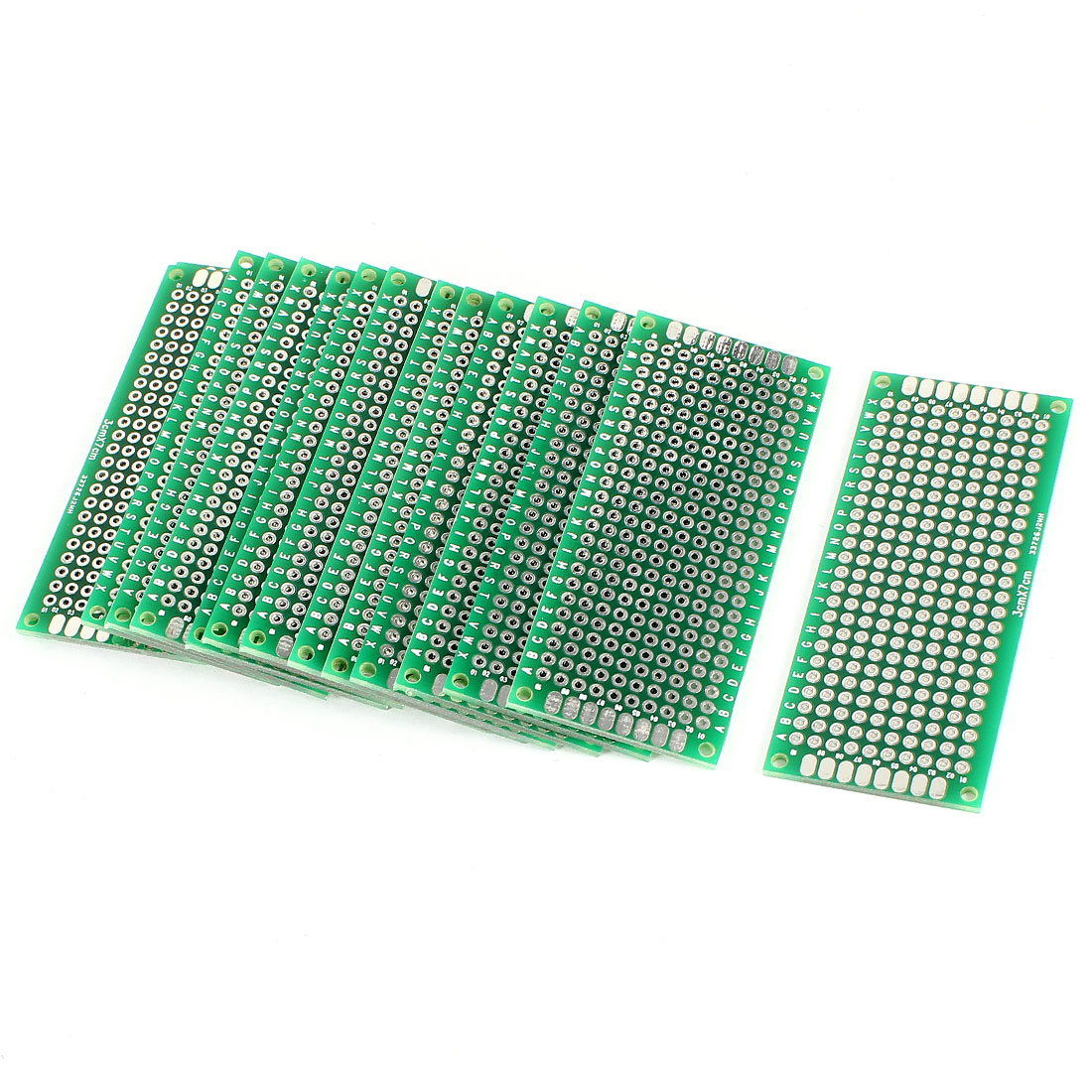 15 PCS 3cm x 7cm Two Sides Prototyping Experiment Matrix Tinned DIY Universal PCB Print Circuit Board