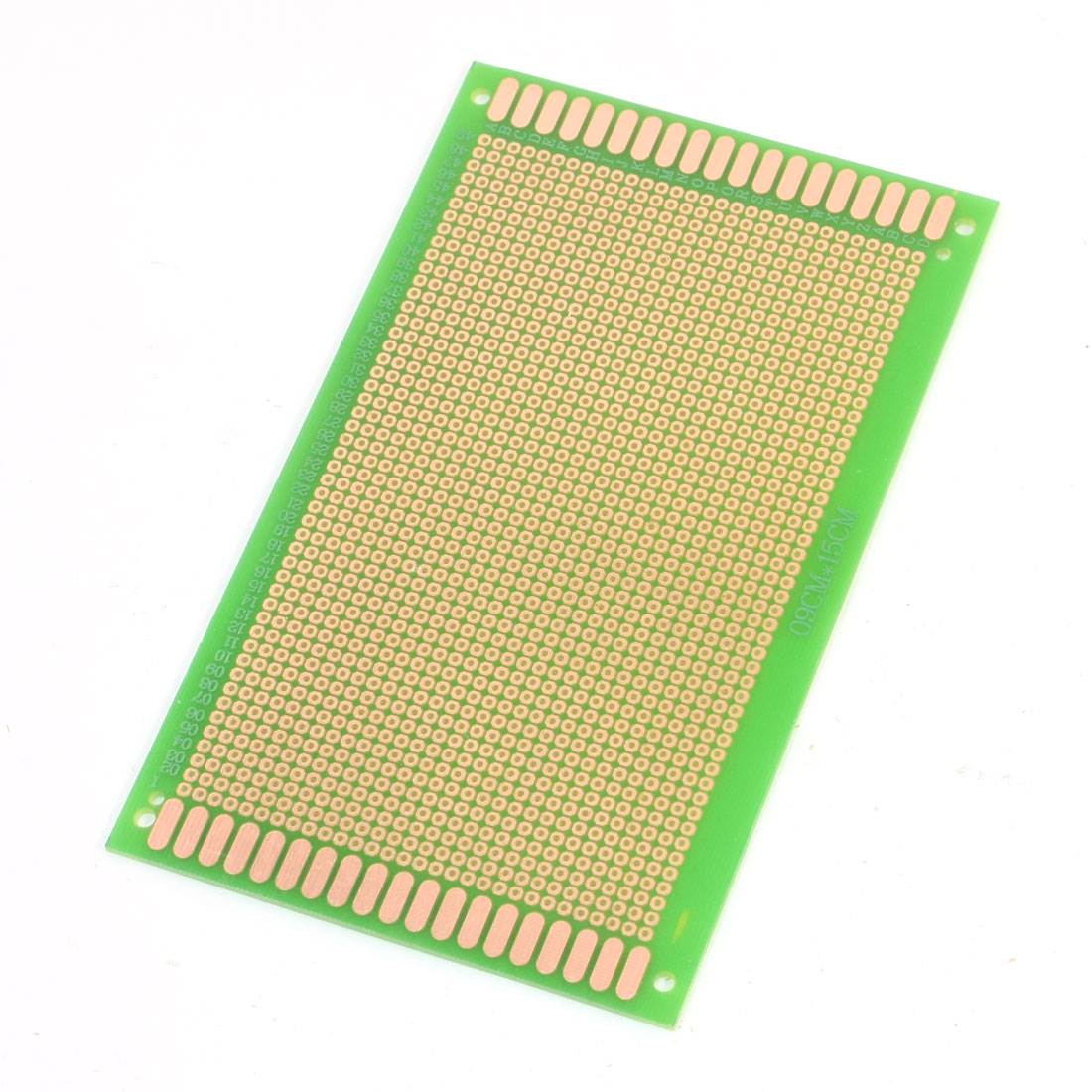 Electronic DIY Universal Single Side Prototype Matrix Copper Plated Carbon Fiber PCB Board 15cm x 9cm