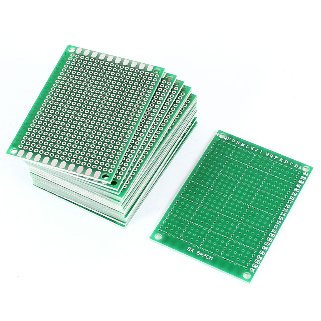 20 PCS 5cm x 7cm One-Sided Prototype Paper Tinned Universal PCB Print Circuit Board for DIY