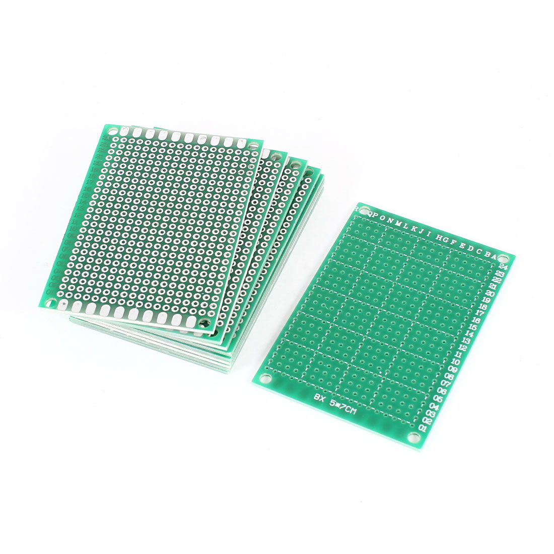 10PCS 5cm x 7cm One Sided Prototype Paper Tinned Universal PCB Print Circuit Board