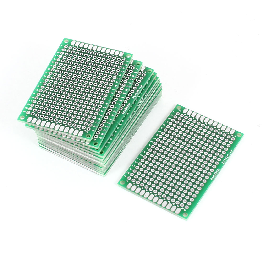 15pcs 4cm x 6cm Double Sides Prototyping Experiment Matrix Universal PCB Print Board for Circuit DIY