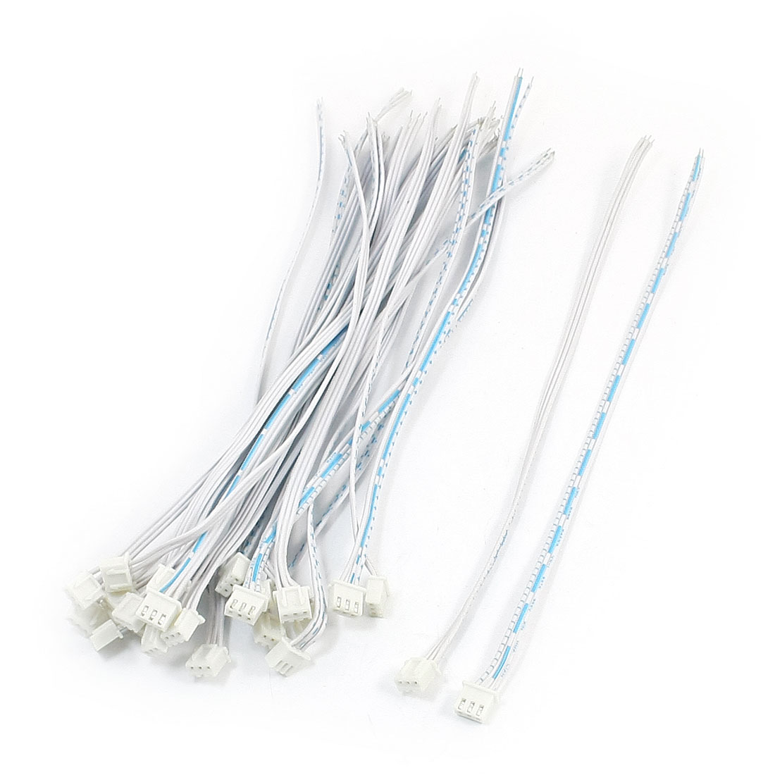 25pcs Single Head JST 2.54mm 3Pin Wire 20cm for RC BEC Lipo Battery