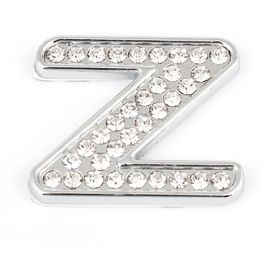 3D Metal English Letter Z Shaped Car Auto Sticker Emblem Badge Decal Decoration