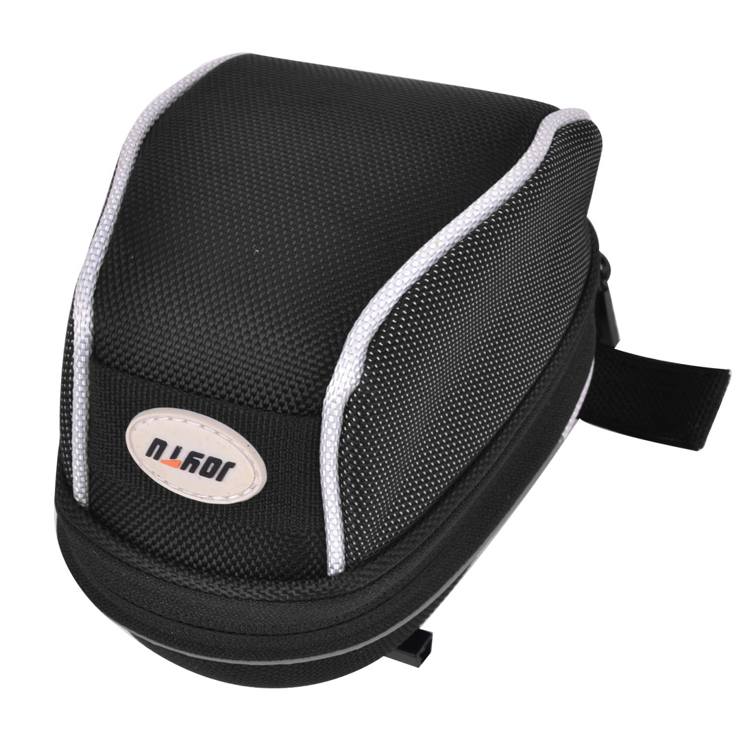 Road Bicycle Cycling Riding Saddle Seat Rear Tail Bag Case Pouch Black White