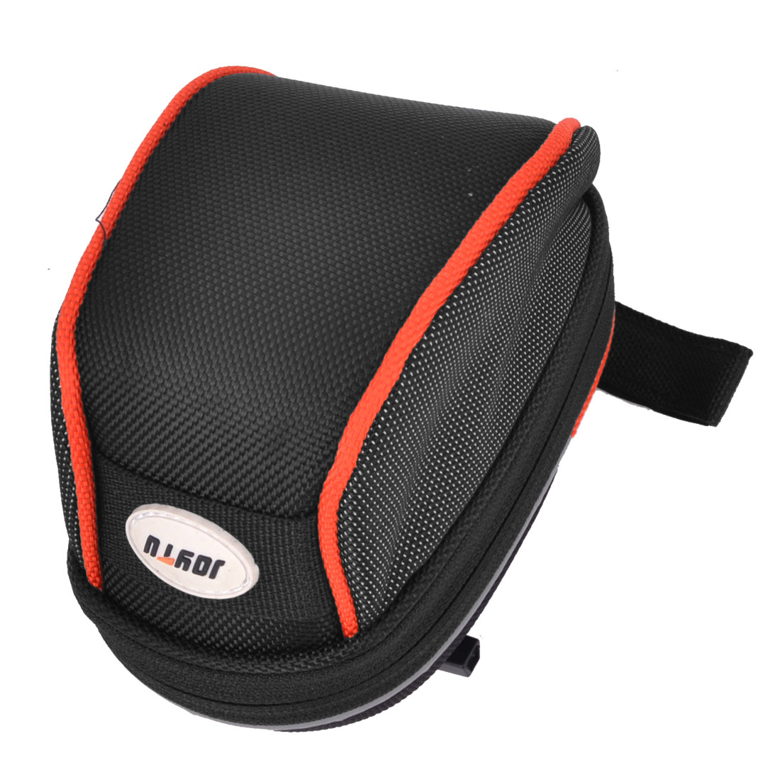 Road Bicycle Cycling Riding Saddle Seat Rear Tail Bag Case Pouch Black Red