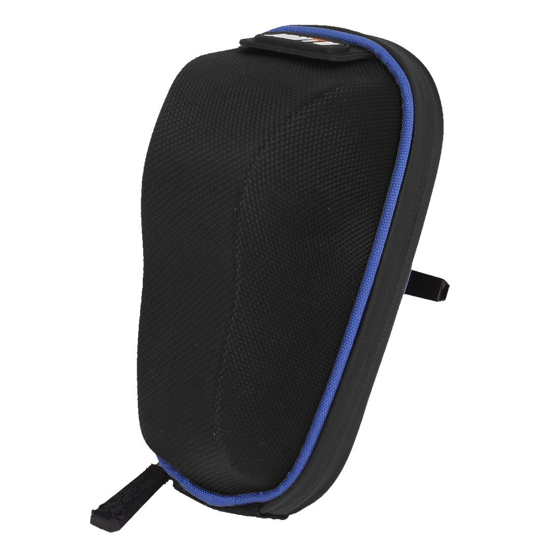 Road Bike Bicycle Black Saddle Pannier Seat Rear Zipper Bag Pouch Holder