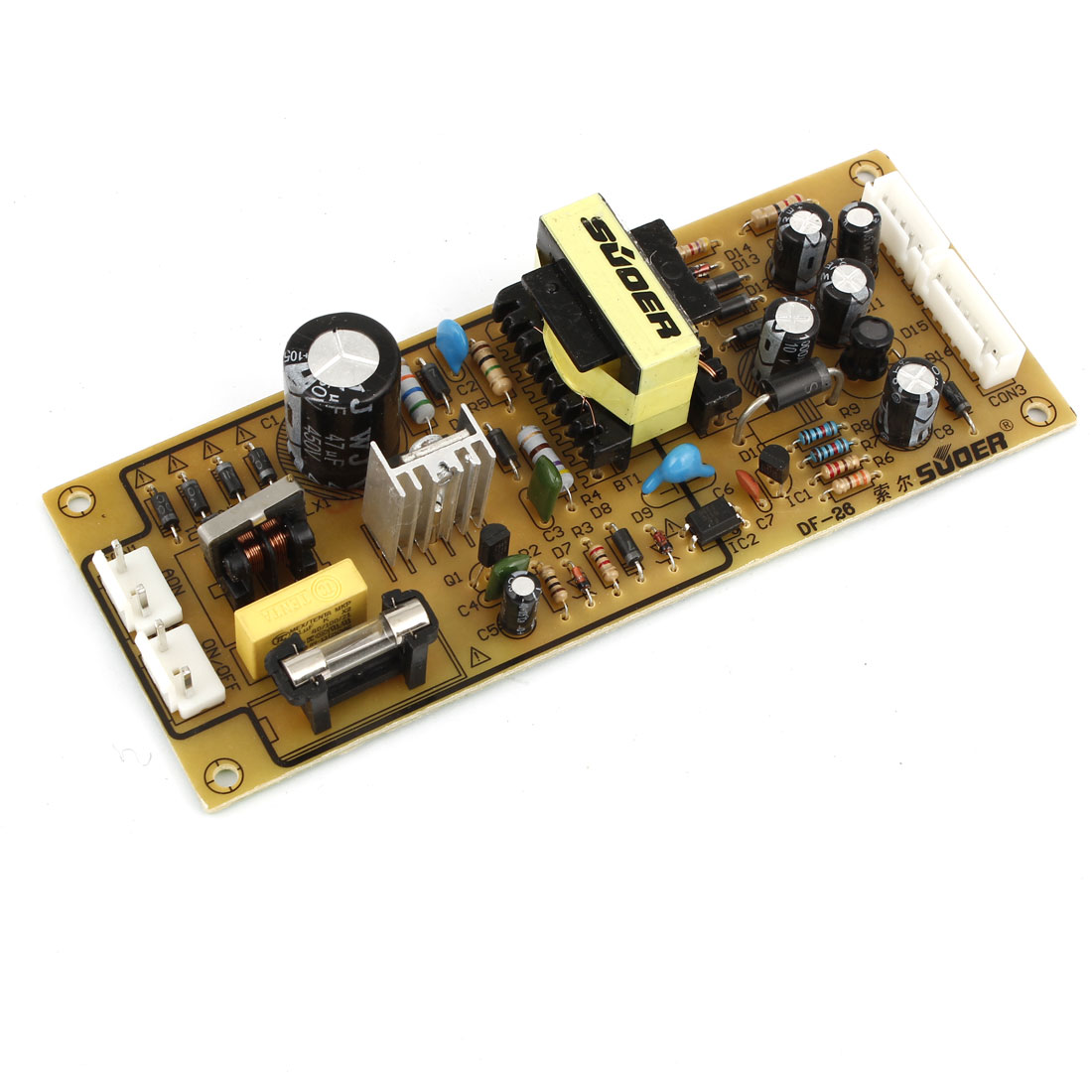 Universal Spare Part Power Supply Board 14.5 x 5.5 x 2.5cm for DVD Players