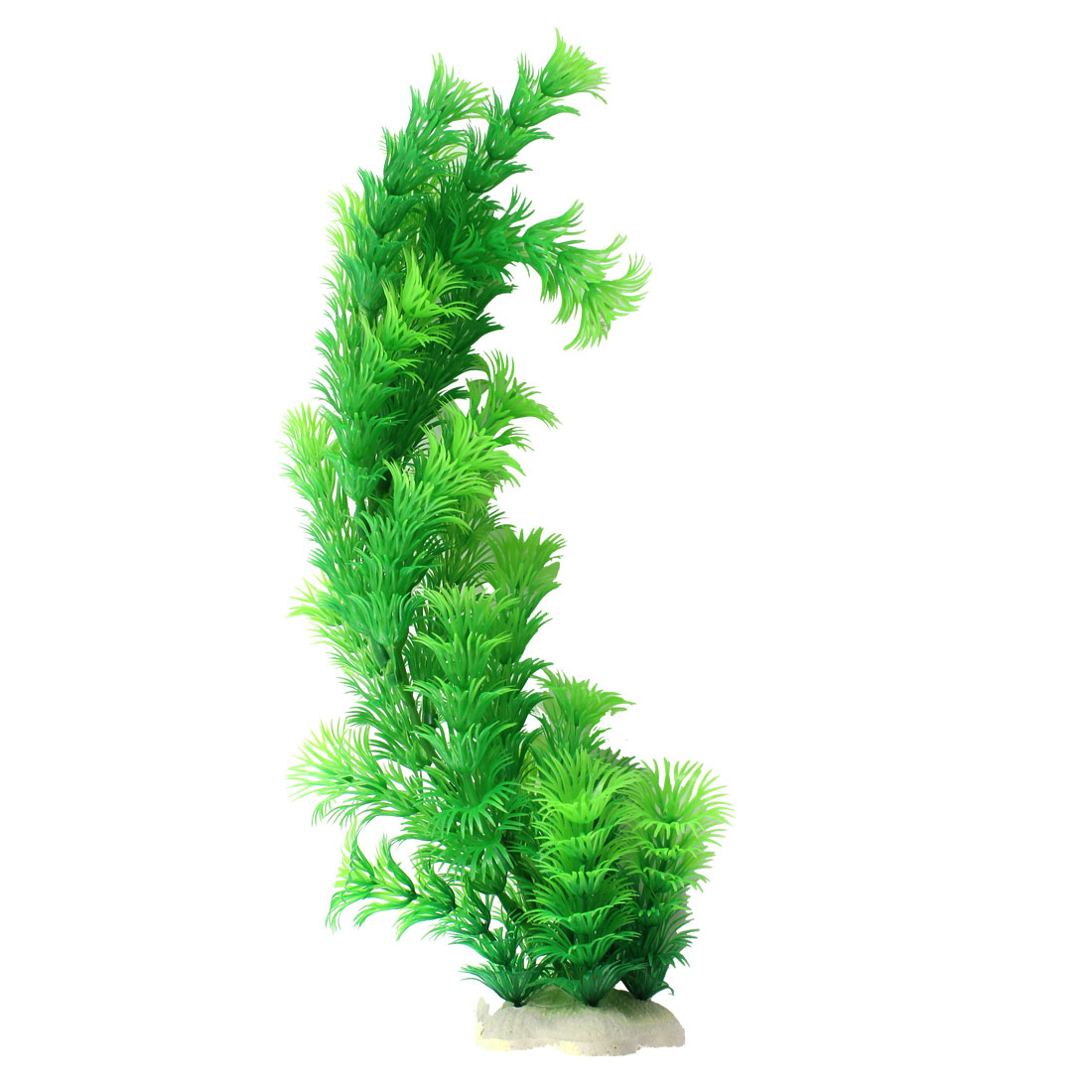 Aquarium Decor Green Emulational Plastic Underwater Grass 32cm High