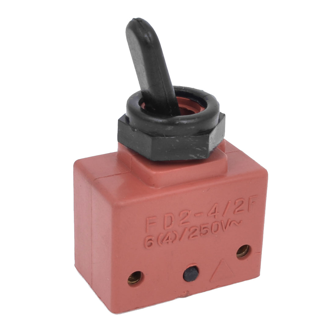 AC 250V 4A DPST NO 2 Position Latching Toggle Switch for Angle Grinder