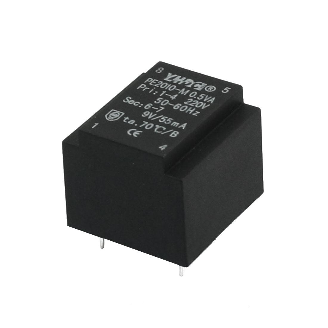 AC 220V to 9V 50-60HZ 55mA 4-pin Microwave Oven Power Transformer