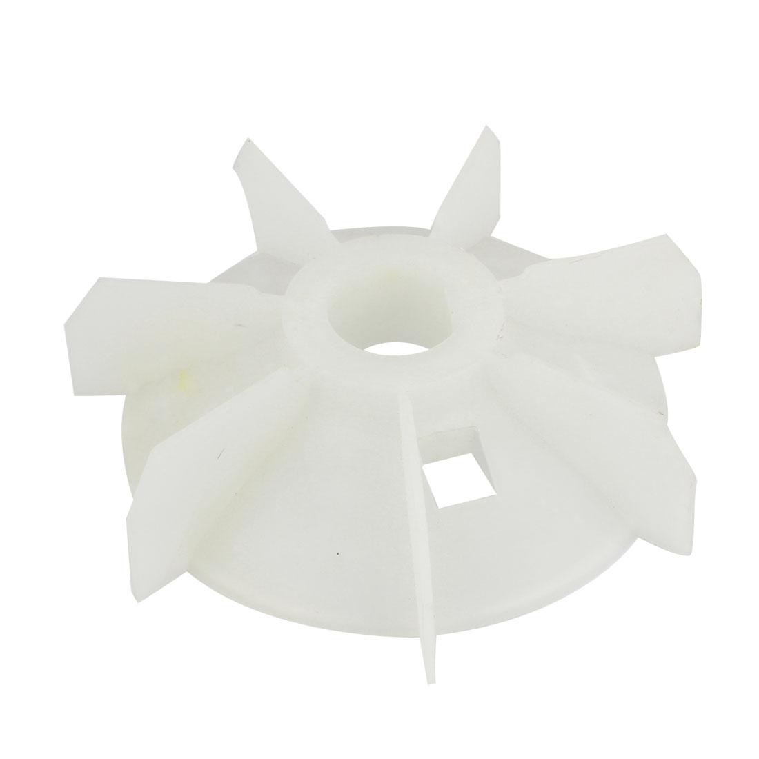 38.4mm Inner Dia 200mm Outer Diameter Plastic Motor Fan Vane Wheel Impeller Y2-132-4.6.8