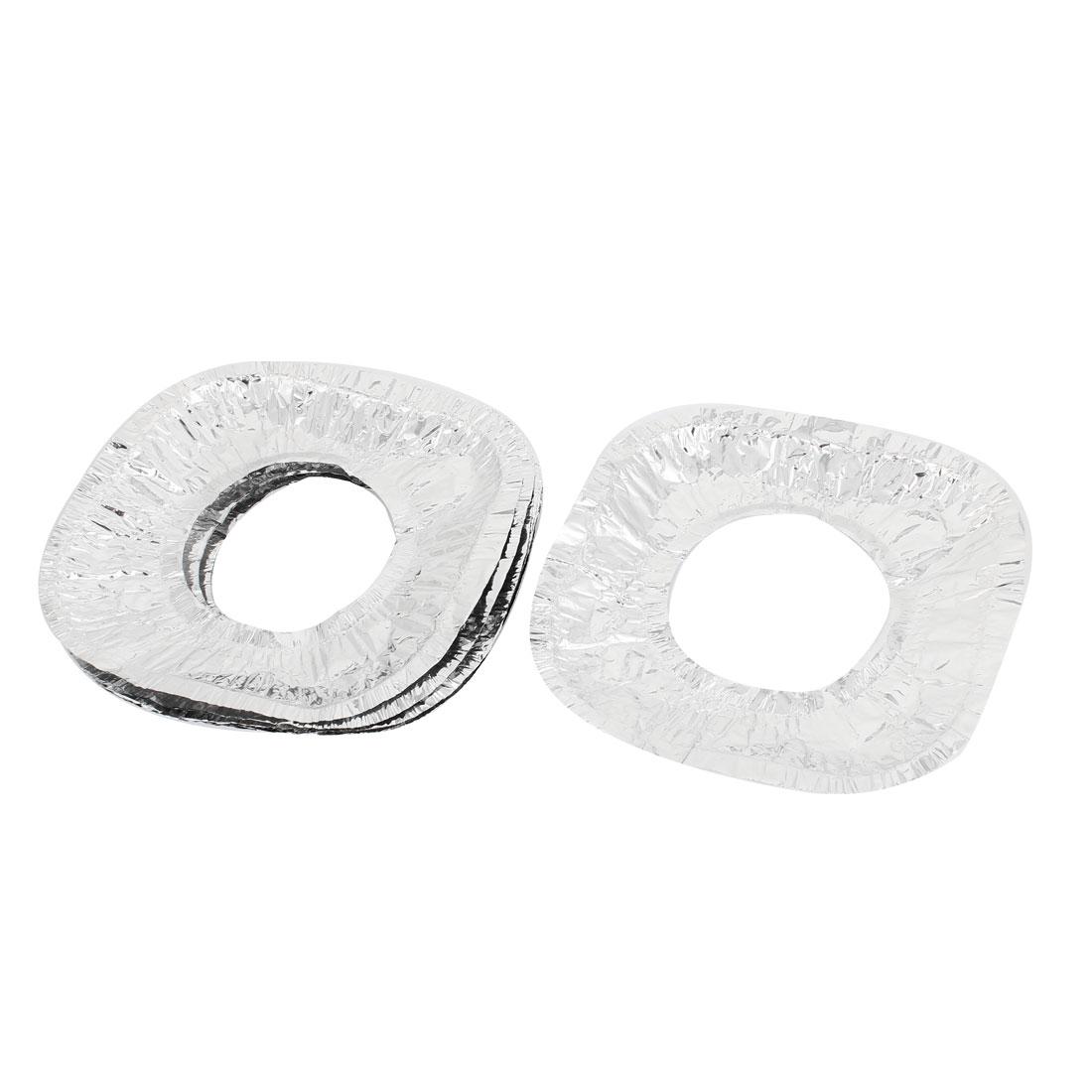 Kitchen Disposable Aluminum Foil Square Gas Burner Bib Liner