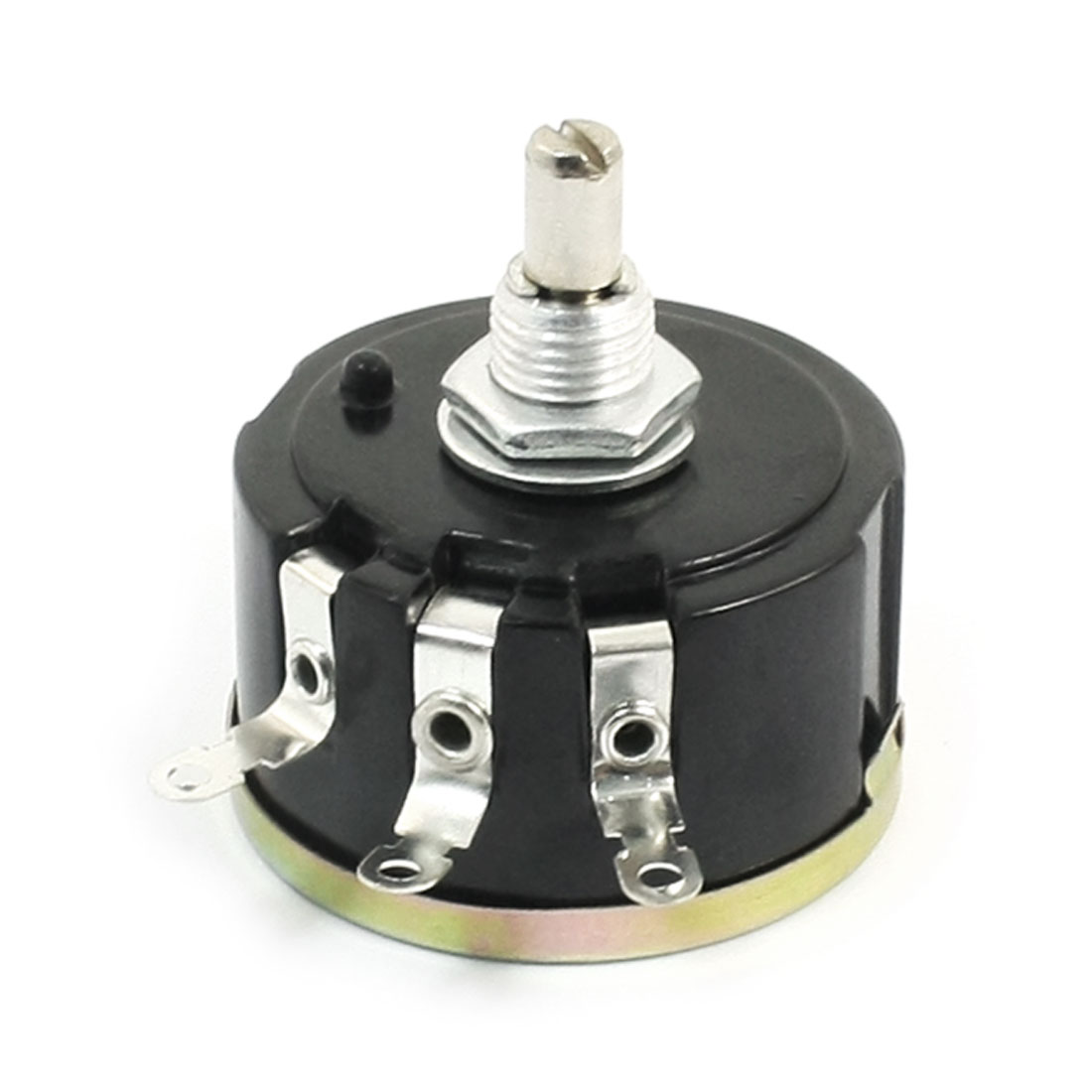 WX112(050) 10K ohm 5% Tolerance 6mm Shaft 3 Terminals Wirewound Potentiometer