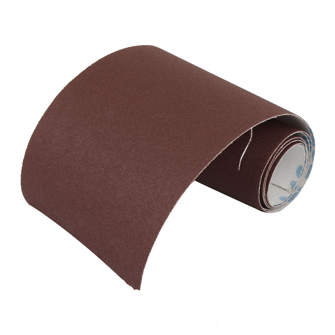 100cm x 10cm 150 Grit Abrasive Sheet Sanding Sandpaper Buffing Tool Dark Brown